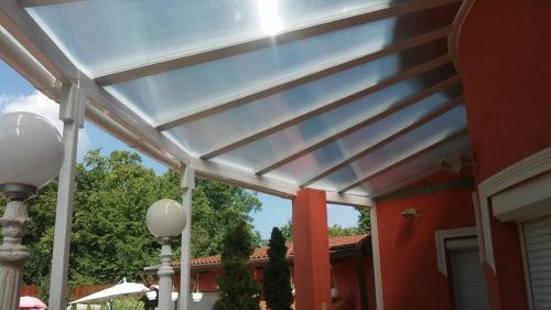 Vordach für Terrasse