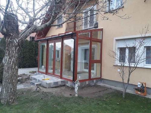 wintergarten szodliget blunt weiss glas dach